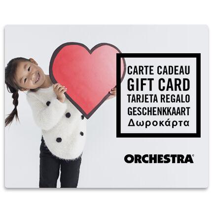 Offrez la carte cadeau Orchestra et faites plaisir à coup sûr fille