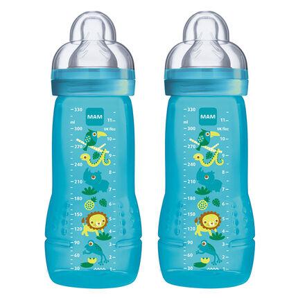 Set van 2 zuiglfes Easy Active - 330 ml