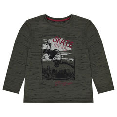 Junior - T-shirt in jerseystof met print skate