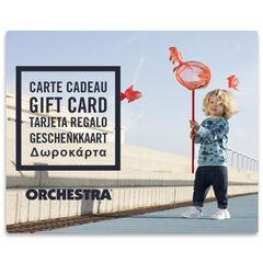 Offrez la carte cadeau Orchestra et faites plaisir à coup sûr bebeGarcon