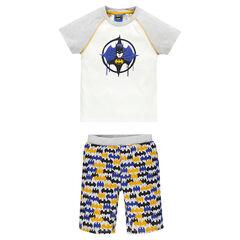 Junior - Pyjama court en jersey Marvel print Batman