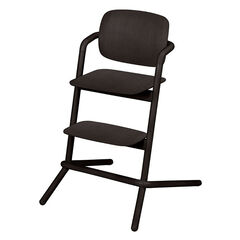 Chaise haute évolutive Lemo Wood - Infinity Black