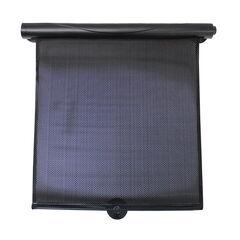 Set van 2 oprolbare zonneschermen - Zwart