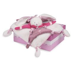 Doudou Konijn Kers - Roze/Paars