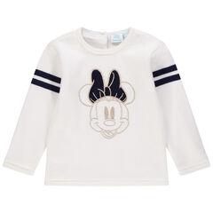 Pull en tricot motif Minnie Disney brodé pour bébé fille , Orchestra