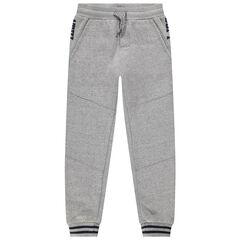 Junior - Pantalon de jogging en molleton doublé micropolaire