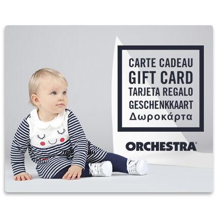 Bied een Orchestra geschenkkaart aan bebeFille