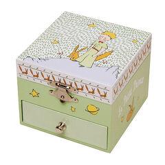 Boîte à musique phosphorescente Le petit Prince