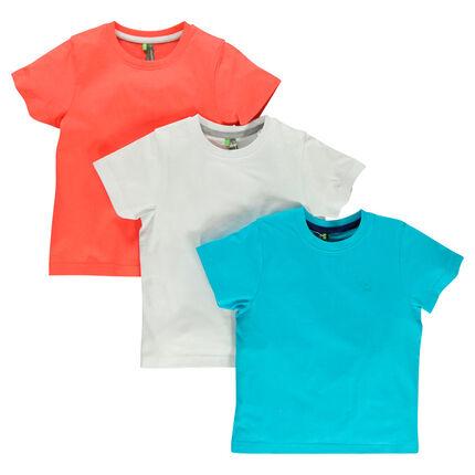 Set van 3 t-shirts met print