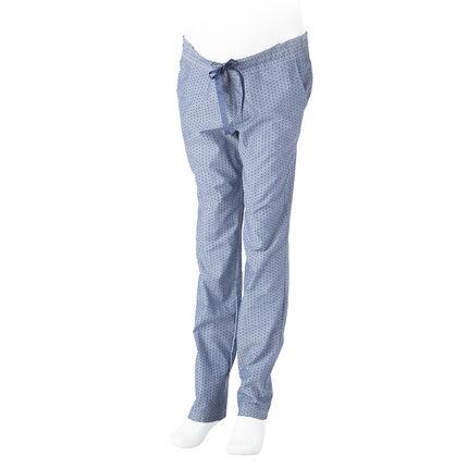 Pantalon homewear en coton de grossesse avec imprimé étoiles