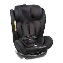 Meegroeiend autostoel groep 0/1/2/3 (vanaf 0 tot 12 jaar) - Zwart