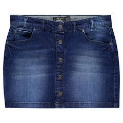 Rok in jeans