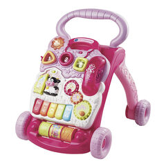 Baby walker 6-36 m – Roze
