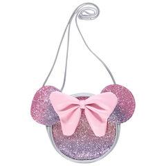 Sac bandoulière Minnie Disney à paillettes