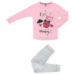 Pyjama fantaisie en jersey et molleton