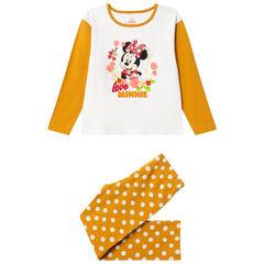 Pyjama en jersey à pois et print Minnie Disney