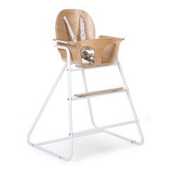 Chaise haute Ironwood - Naturel/Blanc