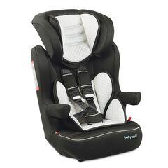 Autostoel Quilt Groep 1/2/3 (van 9 tot 36 kg) - Zwart