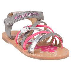 Open schoenen met pailletten Hello Kitty