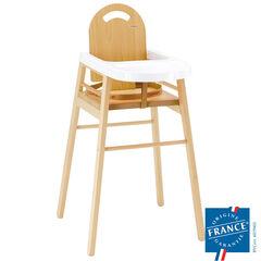 Chaise haute en bois - Lili