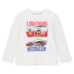 Effen T-shirt met lange mouwen uit jerseystof met print van Cars van Disney/Pixar®
