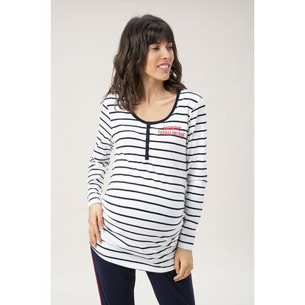T-shirt manches longues homewear