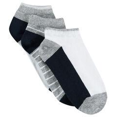 Set van 3 paar matching korte sokken