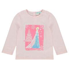 Tee-shirt print Disney la Reine des Neiges