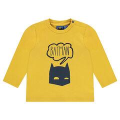 T-shirt met lange mouwen uit jerseystof met BATMAN print