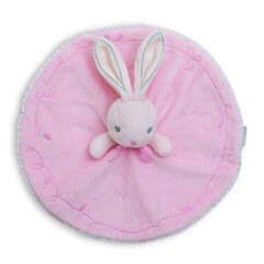 Knuffel 1e lftd Perle P'tit lapin roze