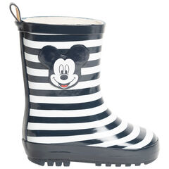 Bottes de pluie rayées print Mickey Disney pour enfant garçon , SAXO BLUES
