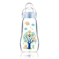 Glazen fles 260ml - Blauw
