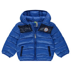 Gewatteerde parka light* met kap