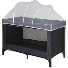 Moustiquaire avec arches pour lit de voyage