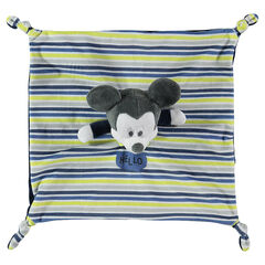 Doudou plat en velours Disney Mickey