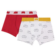 Lot de 2 Boxers en coton BATMAN