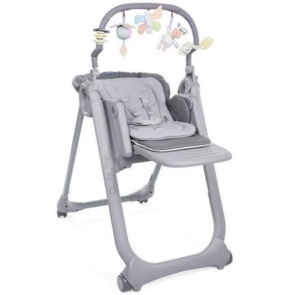 Chaise haute réglable Polly Magic Relax - Graphite