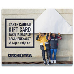 E-Kaart cadeau Orchestra duoGarcons2