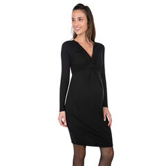 Robe de grossesse manches longues col V