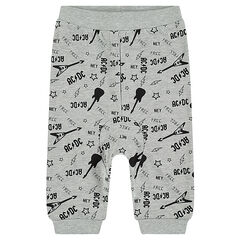 "Joggingbroek uit molton met ACDC® print ""all-over"""