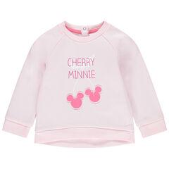 Sweater van molton met kersenprint Minnie Disney , Orchestra