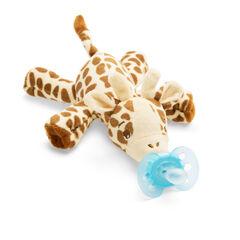 Peluche sucette ultra soft 0-6 mois Girafe