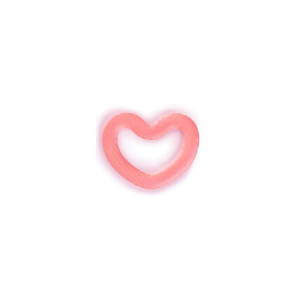 Anneau de dentition silicone - Love