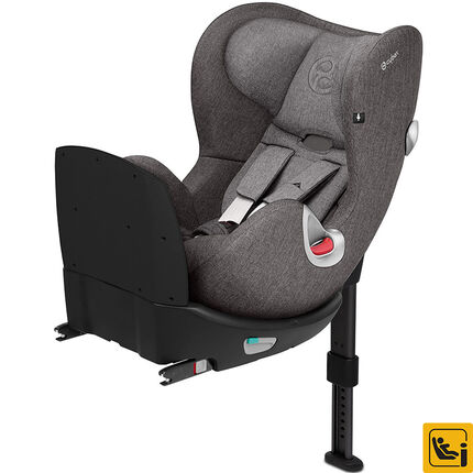 Autostoel Sirona Q i-Size Plus - Manhattan grey/Mid grey