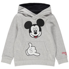 Sweat en molleton Mickey Disney brodé