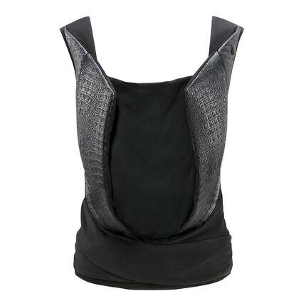 Porte-bébé Yema Tie cuir - Stardust Black
