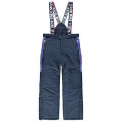 Junior - Pantalon de ski imperméable à bretelles amovibles
