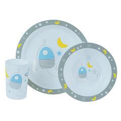 Set repas Espace - 3 pièces