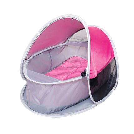 2-in-1 Wieg tent anti-UV - Fuchsia