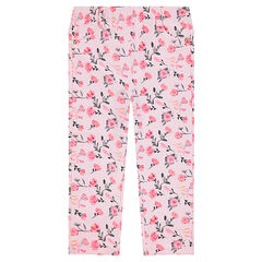"Jegging uit molton met print ""all-over"""